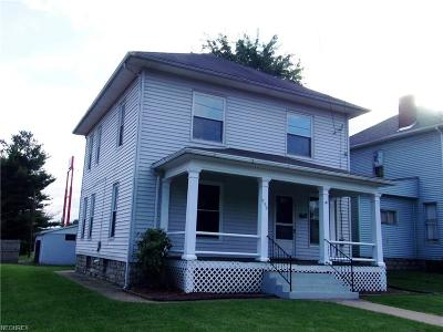Zanesville Single Family Home For Sale: 950 McIntire Ave