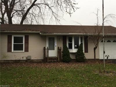 Salem OH Single Family Home Sold: $32,000