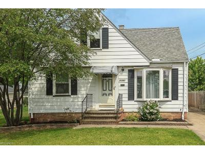 Wickliffe Single Family Home For Sale: 29941 Halifax St