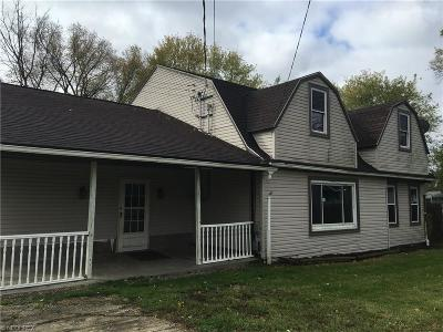 Alliance OH Single Family Home Sold: $70,000