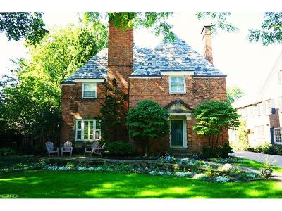 Shaker Heights Single Family Home For Sale: 22300 Parnell Rd