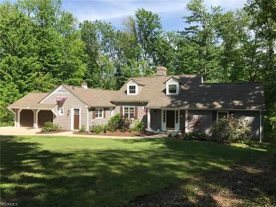 Single Family Home Sold: 9749 Cedar Rd