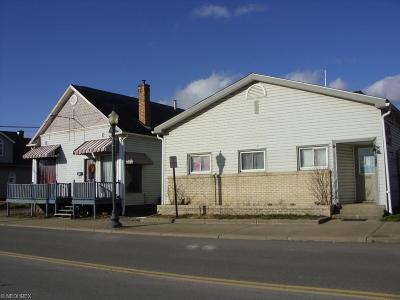 Guernsey County Multi Family Home For Sale: 254 Main St
