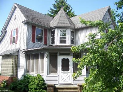 Single Family Home For Sale: 245 West Ohio Ave