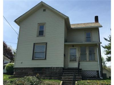 Salem OH Single Family Home Sold: $20,000