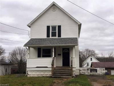 Girard Single Family Home For Sale: 1126 Washington Ave