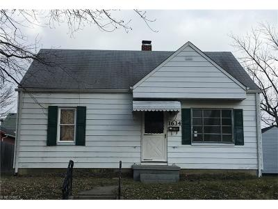 Alliance OH Single Family Home Sold: $23,000