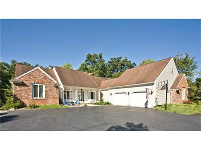 Chagrin Falls Single Family Home For Sale: 50 Solether Ln