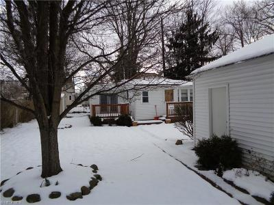 Euclid Single Family Home For Sale: 27750 Parkview Dr