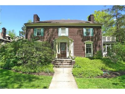 Cleveland Heights Single Family Home For Sale: 2715 Fairmount Blvd