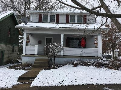 Zanesville Single Family Home For Sale: 1519 Euclid Ave