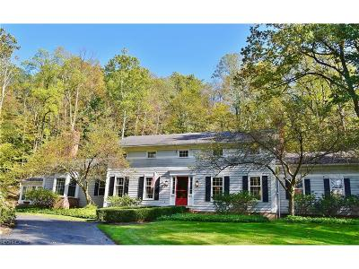 Gates Mills Single Family Home For Sale: 937 Chagrin River Rd