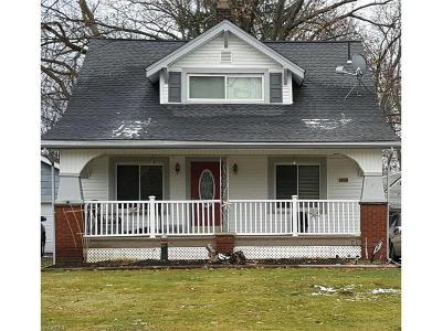 Youngstown Single Family Home For Sale: 134 Rosemont Ave