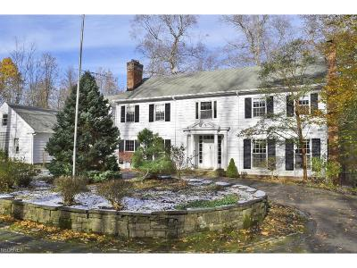 Gates Mills Single Family Home For Sale: 1249 West Hill Dr