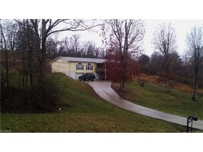 Belpre Single Family Home For Sale: 2710 Barth Rd