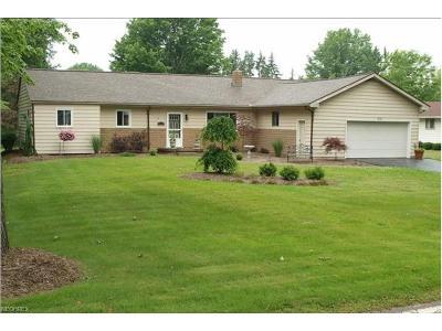 Warren Single Family Home For Sale: 2133 Howland Wilson Rd Northeast