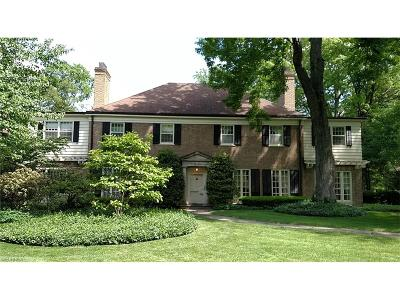 Cleveland Heights Single Family Home For Sale: 2627 Fairmount Blvd
