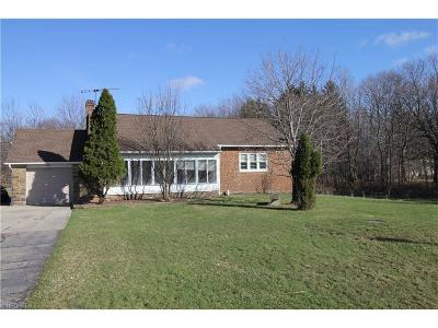 Cuyahoga County Single Family Home For Sale: 26400 Chardonview Rd