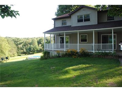 Zanesville Single Family Home For Sale: 370 Urban Hill Rd