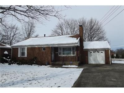 Alliance OH Single Family Home Sold: $105,000