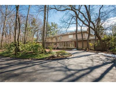 Shaker Heights Single Family Home For Sale: 17800 South Park Blvd