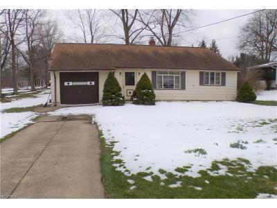 Single Family Home Sold: 28846 Eddy Rd