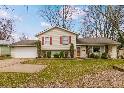 Fairview Park Single Family Home For Sale: 21650 Brookpark Rd
