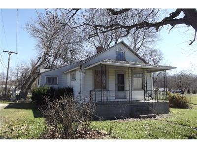 Alliance OH Single Family Home Sold: $21,000