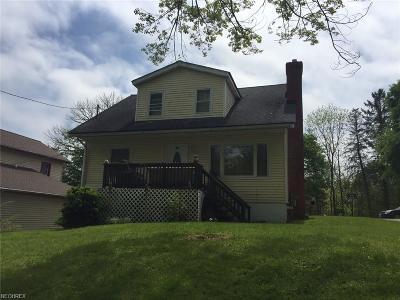 Garrettsville Single Family Home For Sale: 8204 Center St