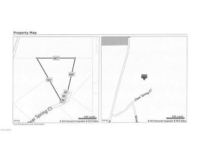 Valley City Residential Lots & Land For Sale: 5615 Clear Spring Ct