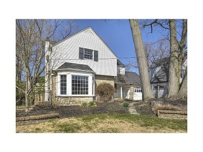 Rocky River Single Family Home For Sale: 21176 Kenwood Ave