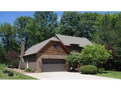 Chardon Single Family Home For Sale: 8695 Maple Glen Dr