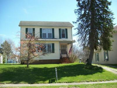 Zanesville Single Family Home For Sale: 1436 Euclid Ave