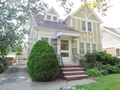Euclid Single Family Home For Sale: 80 East 213 St