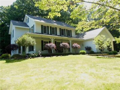 Chardon Single Family Home For Sale: 9305 Mentor Rd