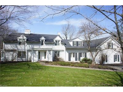 Gates Mills Single Family Home For Sale: 7039 Gates Rd