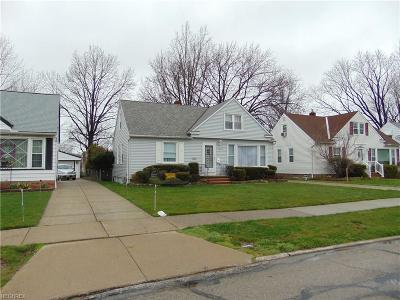 Wickliffe Single Family Home For Sale: 29679 Robert St
