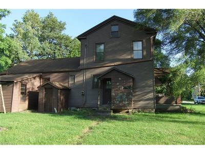 Litchfield OH Single Family Home For Sale: $110,000
