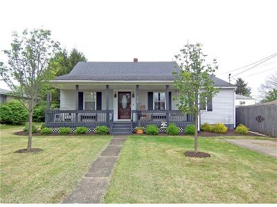 Belpre Single Family Home For Sale: 714 Clement Ave