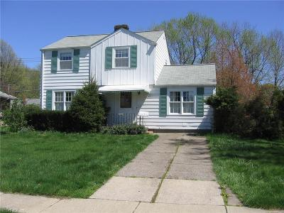 Wickliffe Single Family Home For Sale: 2129 Buena Vista Dr