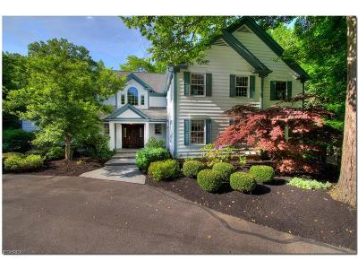Gates Mills Single Family Home For Sale: 7475 Brigham Rd