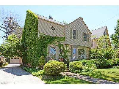 Rocky River Single Family Home For Sale: 273 Argyle Rd
