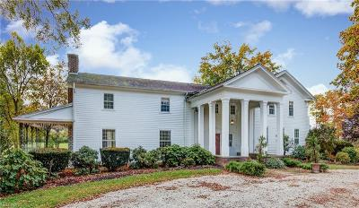 Geauga County Single Family Home For Sale: 7123 Cedar Rd