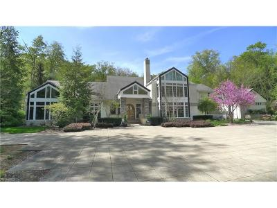 Gates Mills Single Family Home For Sale: 6785 Gates Mills Blvd