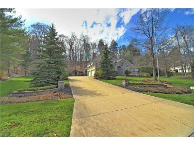 Gates Mills Single Family Home For Sale: 796 Village Trl