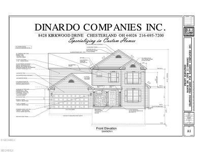 Chesterland Single Family Home For Sale: 7524 Cedar Rd