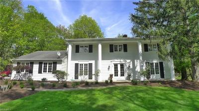 Pepper Pike Single Family Home For Sale: 3189 Lander Rd