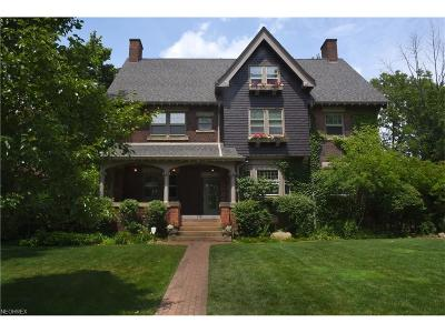 Cleveland Heights Single Family Home For Sale: 2581 Berkshire Rd