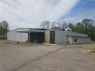 Conneaut Commercial For Sale: 3039 E Center Street