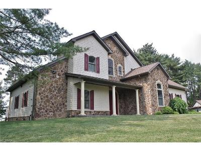 Guernsey County Single Family Home For Sale: 65540 Slaughter Hill Rd